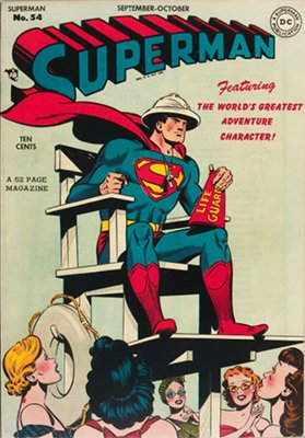 Superman #54. Click for values