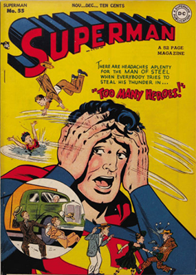 Superman #55. Click for values