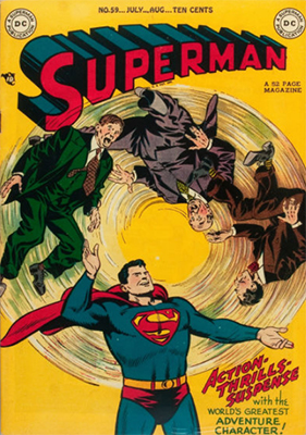 Superman comics #59: click for values