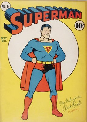 Superman #6: ad for All-Star Comics #1 inside. Click for values