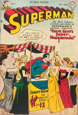 Superman comic books #71. Click for values