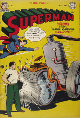 Superman comic #73. Click for values