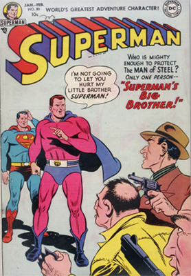 Superman comic books #80: first appearance of Halk Kar. Click for value