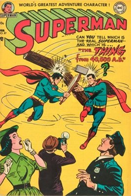 Superman comic books #87. Click for values