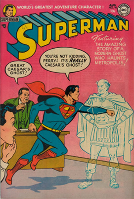 Superman comic #91. Click for values