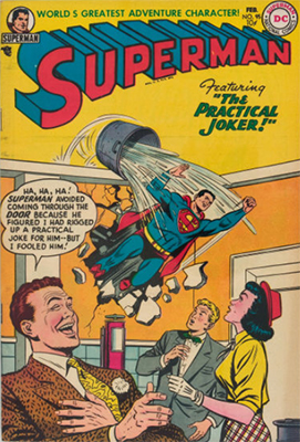 Superman #95: Last Pre-code issue. Last appearance of Susie Tompkins for 23 years. Click for values