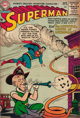 Superman comic #96. Click for values