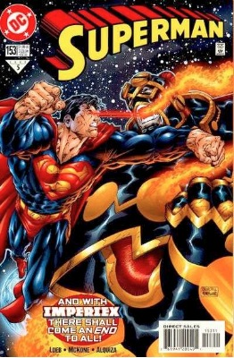Origin and First Appearance, Imperiex, Superman vol. 2 #153, DC Comics, 2000. Click for value