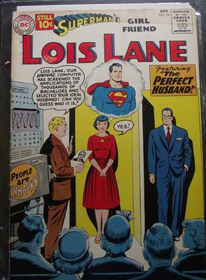 Superman's Girlfriend Lois Lane #24 Value?