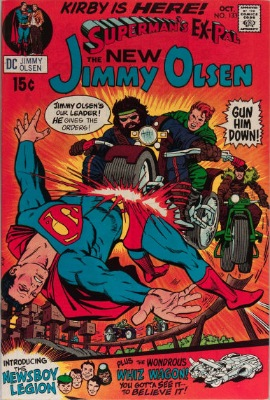 Origin and First Appearance, Morgan Edge, Superman's Pal, Jimmy Olsen #133, DC Comics, 1970. Click for value