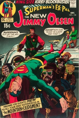 Superman's Pal Jimmy Olsen #134 (December 1970): First Appearance, Darkseid. Click for values