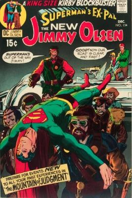 Superman's Pal Jimmy Olsen #134 (December 1970): First Appearance, Darkseid. Click for values