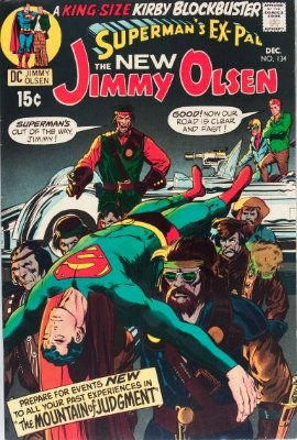 Hot Comics #22: Superman's Pal Jimmy Olsen #134, 1st Darkseid Cameo. Click to buy a copy