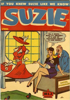 Suzie #49: MLJ spin-off series from the Golden Age. Click for values