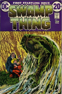 Hot Comics #87: Swamp Thing #1 (1972), 1st Solo Book. Click to buy yours!