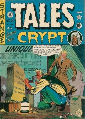 Tales From the Crypt #20 from EC Comics. Click for current values