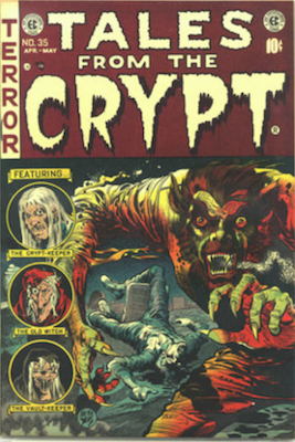 Tales from the Crypt #35. Click for current values.