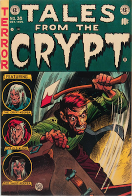 Tales from the Crypt #38. Click for current values.