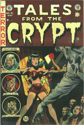 Tales from the Crypt #41. Click for current values.