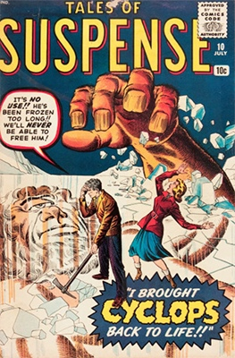 Tales of Suspense #10. Click for current values.