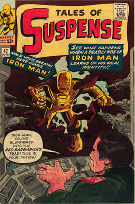 Tales of Suspense #42: click for values