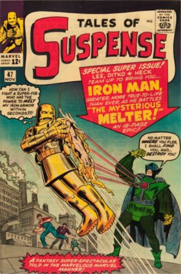 Tales of Suspense #47: First appearance of The Melter. Click for values
