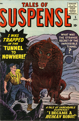 Tales of Suspense #5. Click for current values.