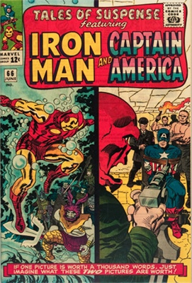 Tales of Suspense #66 (June 1965): Red Skull Origin Issue/Iron Man Armor Mk IV 1st Appearance. Click for value