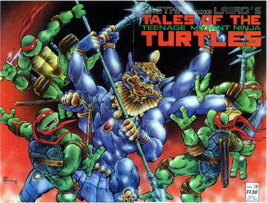 Tales of the Teenage Mutant Ninja Turtles #3 (1987). Click for values