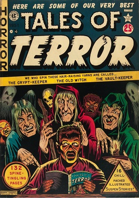 Tales of Terror Annual #1 (1951): Very rare Golden Age horror comic books -- only 13 CGC copies! Click for vaue