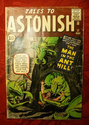 Tales to Astonish #27 Value? Fair to Good condition, with some tears and heavy spine wear