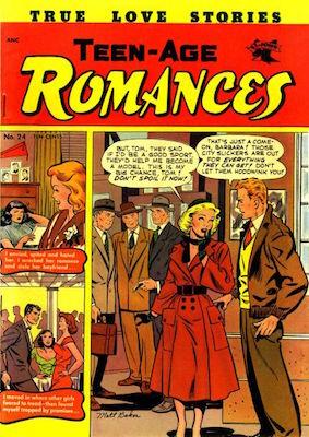 Teen-Age Romances #24. Click for values