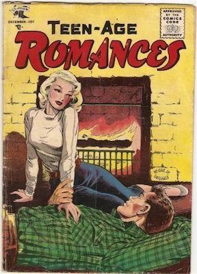 Teen-Age Romances #45: Matt Baker cover. Click for values