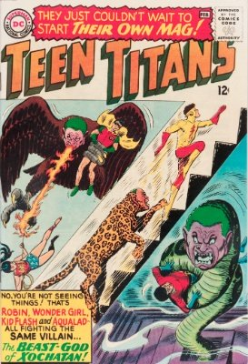 Teen Titans #1 (January, 1966): First Issue of The Teens' Own Title. Click for value