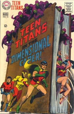 "Origin and First Appearance, Aliens of ""Dimension X"", Teen Titans #16, DC Comics 1968. Click here to have your copy appraised"