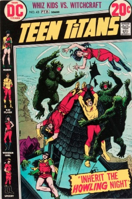 Teen Titans #43 (January, 1973): End of the Original Series. Click for value