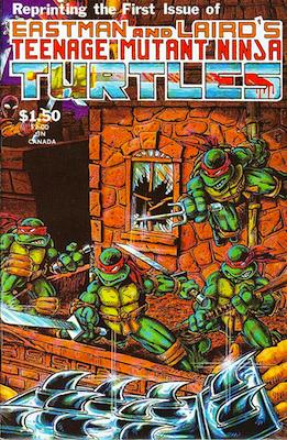 Teenage Mutant Ninja Turtles #1, 4th Printing. Mirage Comics (1985). Click for values