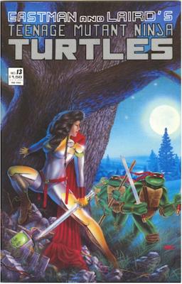 Teenage Mutant Ninja Turtles #13 (1987). Click for values