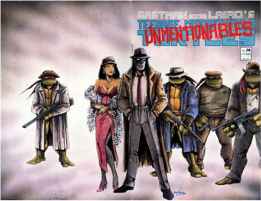 Teenage Mutant Ninja Turtles #14 (1988). Click for values