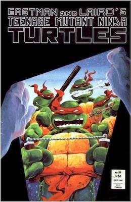 Teenage Mutant Ninja Turtles #16 (1988). Click for values