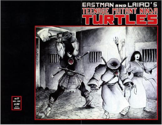 Teenage Mutant Ninja Turtles #17 (1988). Click for values