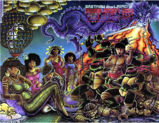 Teenage Mutant Ninja Turtles #18 (1989). Click for values