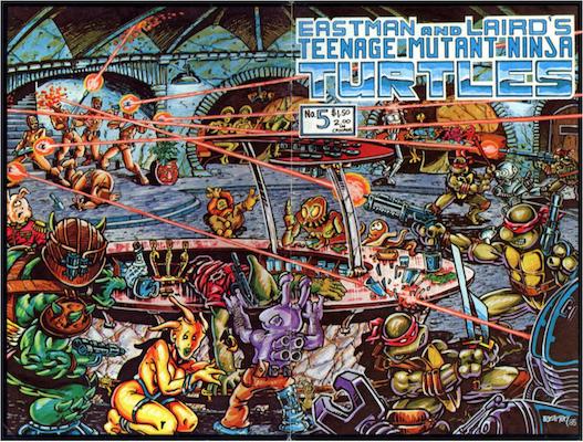 Teenage Mutant Ninja Turtles #5 (1985). Click for values