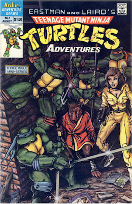 Teenage Mutant Ninja Turtles Adventures #1 (1988): Archie Publications. Click for values