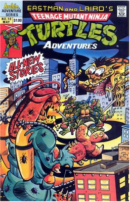 Teenage Mutant Ninja Turtles Adventures #10 (1989): Archie Publications. Click for values