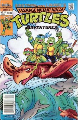 Teenage Mutant Ninja Turtles Adventures #17 (1989): Archie Publications. Click for values