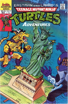 Teenage Mutant Ninja Turtles Adventures #20 (1989): Archie Publications. Click for values