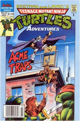 Teenage Mutant Ninja Turtles Adventures #22 (1989): Archie Publications. Click for values
