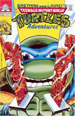 Teenage Mutant Ninja Turtles Adventures #41 (1989): Archie Publications. Click for values