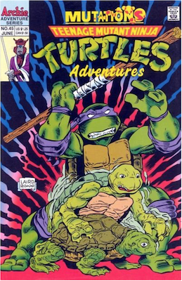 Teenage Mutant Ninja Turtles Adventures #45 (1989): Archie Publications. Click for values